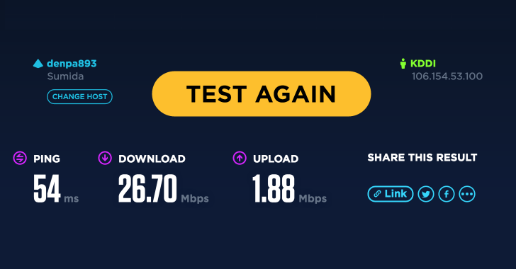 W03 Speedtest
