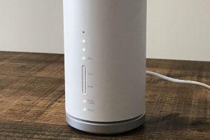 Speed Wi-Fi HOME L01 LEDランプ