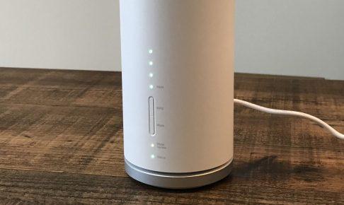Speed Wi-Fi HOME L01 外観