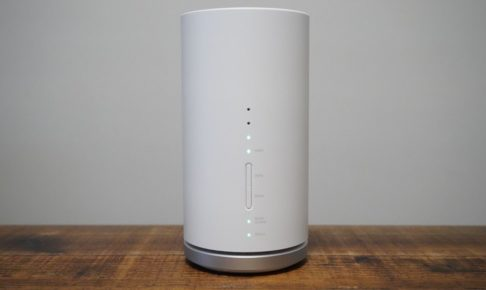 Speed Wi-Fi HOME L01s 正面